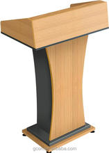 Commercial collapsible podium