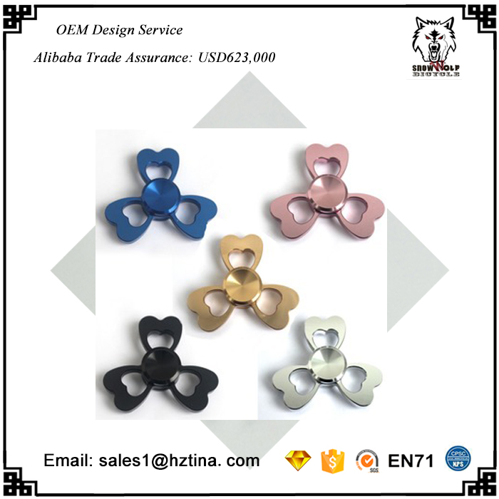 2017 Wholesale Light Hand Spinner Caps Wind Spinenr