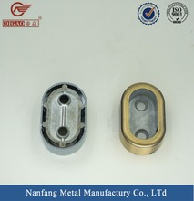Wardrobe metal hanging tube holder support bracket for pipe