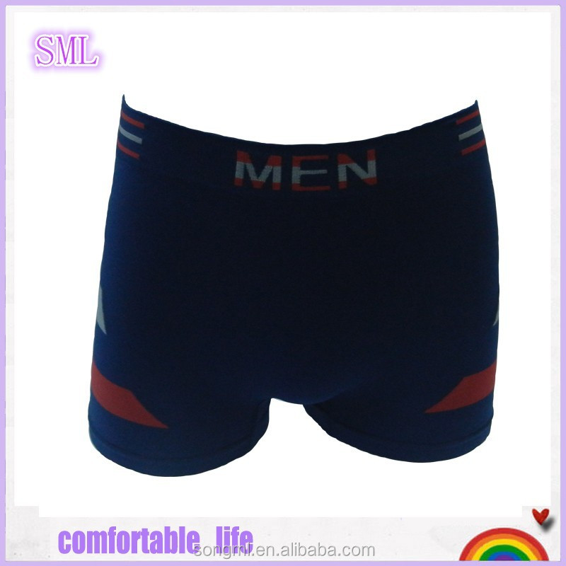 Hot selling colorful mens underwear boxers