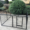"New Design 24"" 32"" 40"" 8 Panel Heavy Duty Pet Playpen Dog Exercise Pen Cat Fence"