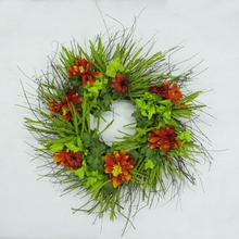 alibaba China best selling cheap plastic christmas wire wreath frame