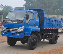 China Factory Price Foton Forland 4x4 Mini Dump Truck