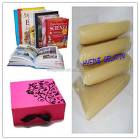 excellent hotmelt jelly gum for case or boxes/hot melt adhesive/jelly glue