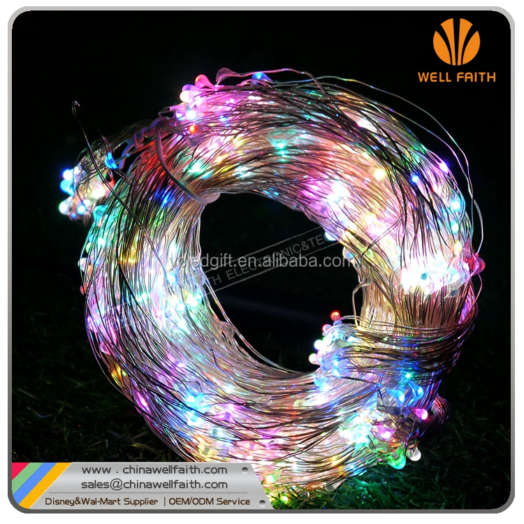 UK US AU plug Powered For Christmas Lights Wholesale Item Fairy light flexible customzied mini led copper wire string lights