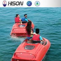 Factory directly provide high quality fiberglass yacht small mini speed boat