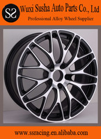 "18"" 19"" and 20"" black machine face forged aluminum alloy wheels"