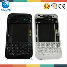 10 Year Professional Wholesale Complete BB Q5 Housing Cover For Blackberry Q5 Housing Parts Replacement