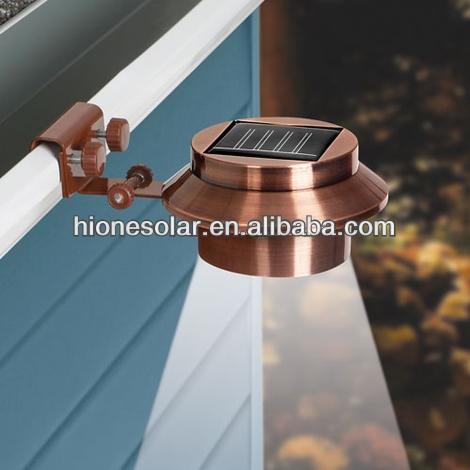 wasserdicht kupfer solarbetriebene dachrinne lichter led. Black Bedroom Furniture Sets. Home Design Ideas