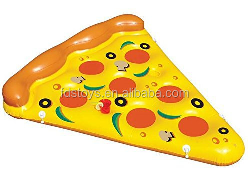 Custom giant inflatable pizza pool float