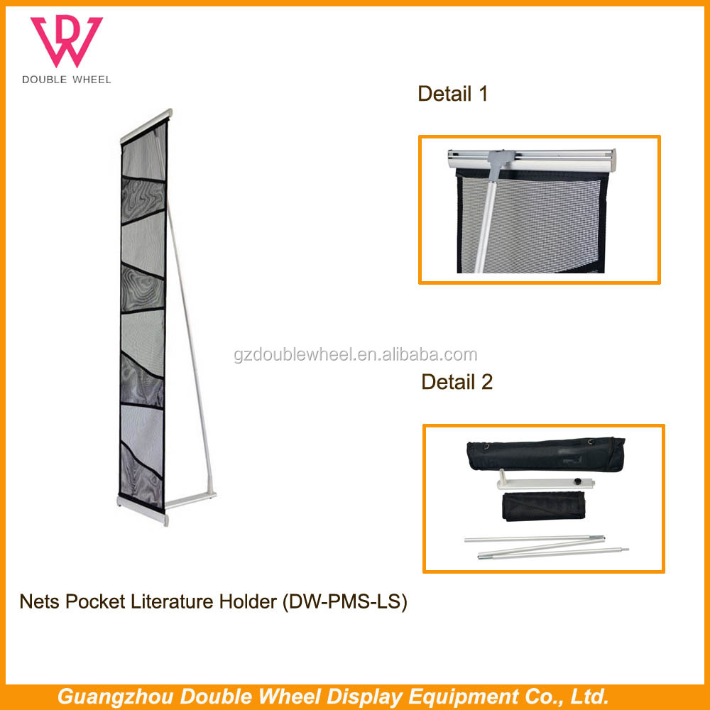 literature rack A4 with acrylic tray/ portable promo stands,literature rack A4 with acrylic tray/metalic brochure holder
