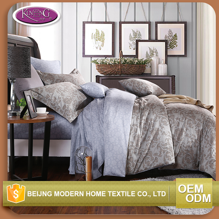 Wholesale home comfortable super king size 100% cotton comforter set