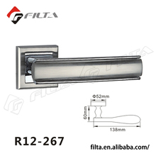 America style Zinc alloy door handle with rosette made in china