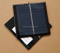 5.5 V 1 watt small plate high quality 95 * 95 polycrystalline silicon solar panels