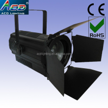 high power 200w cold white 7000k theatre dmx zoom 15-50 degree machine led photo studio light for tv video