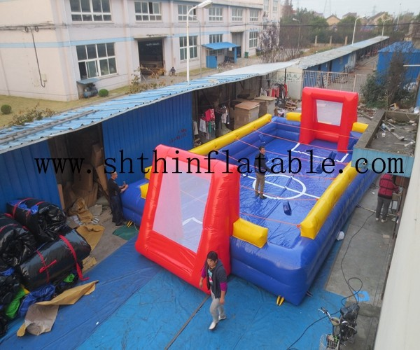 factory supply inflatable human foosball