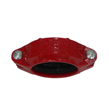 Juntong FM UL nut tube coupling red grooved coupling and fittings