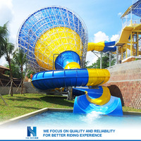 2016 Best Price bounce round inflatable water slide for sale