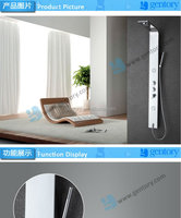 bathroom accessories #304 stainless steel Electric shower head RoHS and CE Bathroom -S120 shower panel