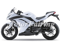 EX300 13-14 Kawasaki ninja 300 2013 fairing kit 2014 White kawasaki motorcycle parts