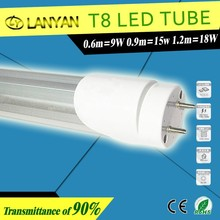best price 15w 1.2m T8 to T5 led hanging tube light T8 to T5 fluorescent lighting fixture t5 led integrated lamp