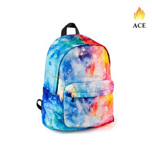 Promotion custom polyester colorfull backpack For outdoor sports