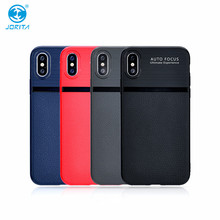 New Design Fashion Soft TPU Leather Pattern Mobile Phone Case For iPhone X