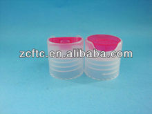 Red disc clear cap for detergent usage 20/415