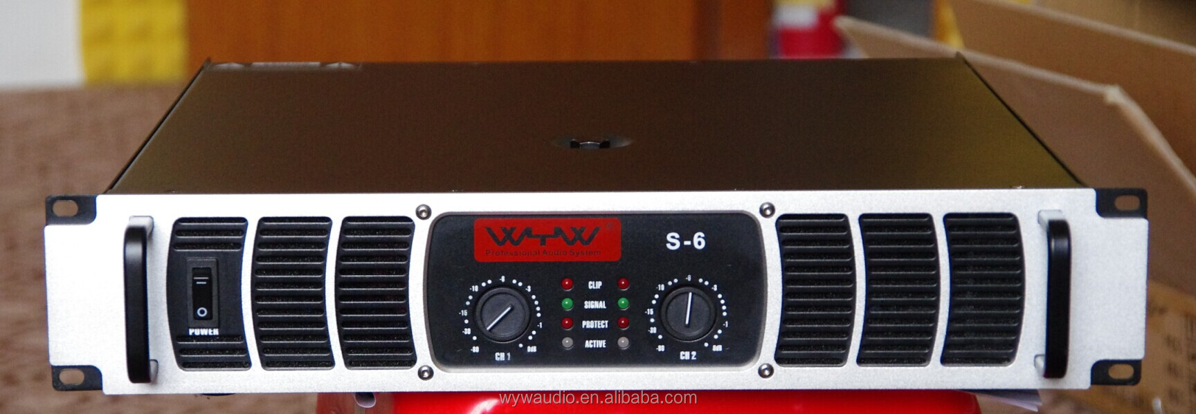 600W ,dual channel ,Professional audio power amplifier