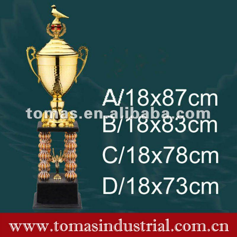 iron & plastic PVC premier league trophy cup