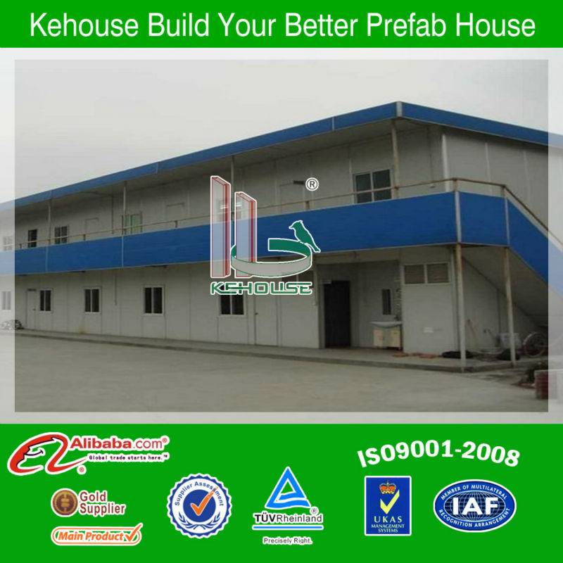 Comfortable beautiful durable cheap prefab camp building build a prefab house with ISO9001 AS/CE certificate