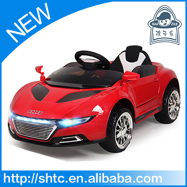 2016 rechargeable R/C electric baby ride on toy car