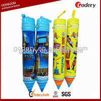 2015 Promotional Zipper Pencil Case Pvc Pencil Case