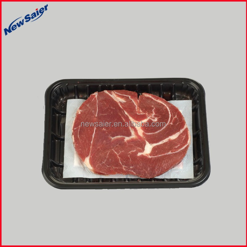 Double PE Film Coated water absorbent pad for fish and meat