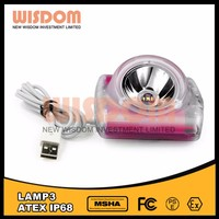 Brightest among the industry lamp 3 hard hat lamp