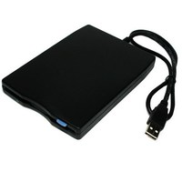 USB Portable Diskette Drive, USB External Floppy Drive(Black)
