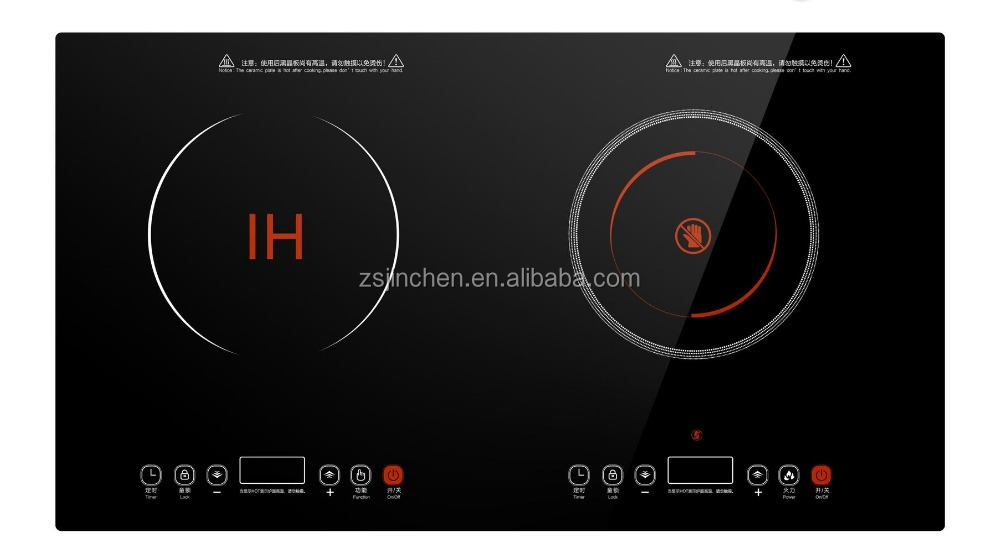 OME electrical kitchen appliances electric infrared cooker / induction cooker with double burners