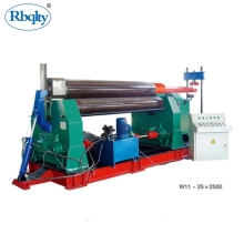 High efficiency three roller steel <strong>plate</strong> <strong>bending</strong> <strong>machine</strong> for bender pipe