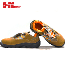 Embossed Cow Split Leather High Quality Cleanroom Ladies Safety Shoes