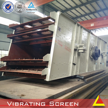 Mobile rock crusher screen hot machines YKR circular vibrating screen used sand making line