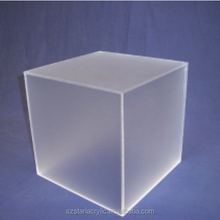 Cube Frosted Acrylic Plexiglass Case for LED Displays