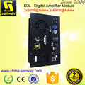 D2L 2 Channel D Class Self Powered Plate Amplifier