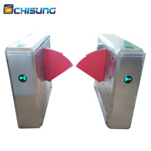 RFID access control stainless steel high speed flap gate turnstile