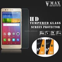 whole transparency 0.33mm 9h anti-explosion shatter proof tempered glass screen protector for Huawei GR 5