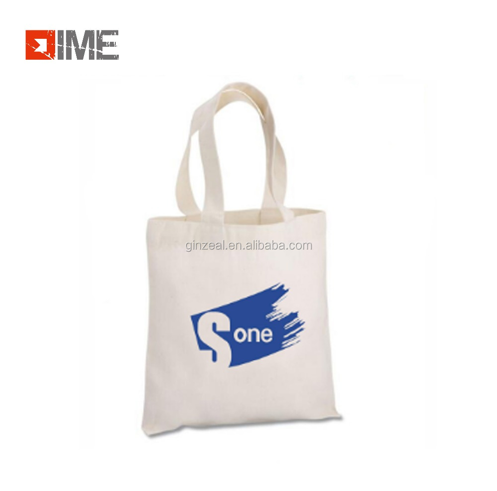 New style custom cotton canvas bag gift shopping bag for promotion