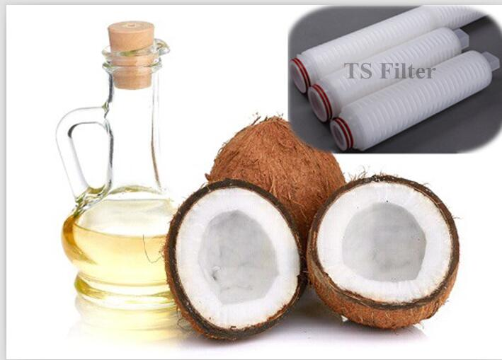 Cheap coconut oil filter processing machine in Indonesia