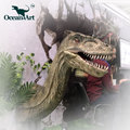 OAC0078 Amusement theme park animatronic dinosaur head