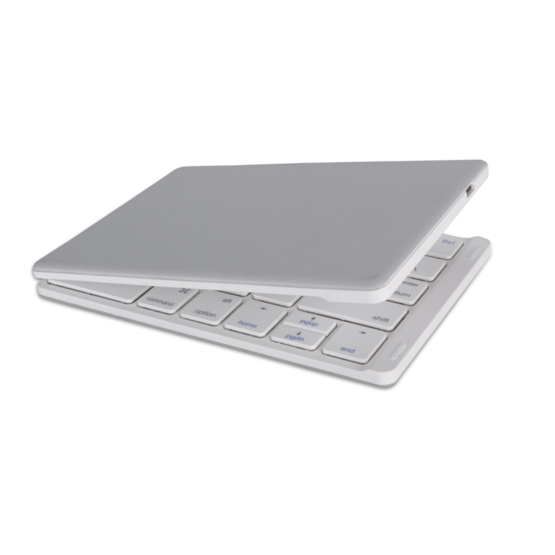 Two-fold Mini Wireless Bluetooth 3.0 Folding Foldable Keyboard for Windows Andriod IOS BTK-047