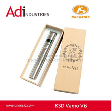 factory price mechanical mod vamo ecig vamo v6 high wattage 20W ego variable volt/watt apv v6 mod vamo