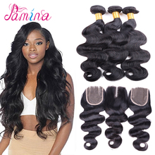 Factory Wholesale Remy Virgin Human Hair Bundles Body Wave Peruvian Wet And Wavy Hair Body Wave Virgin Human Hair with closure